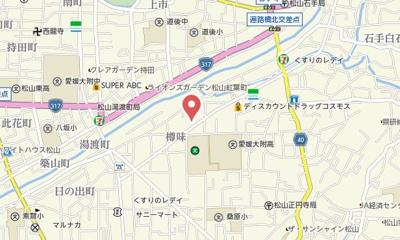 【地図】カトレアⅢ