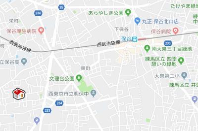 【地図】レオパレスSir House (24780-101)