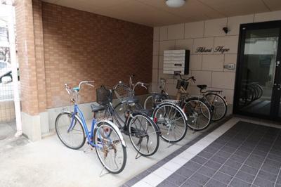 敷地内駐輪スペース