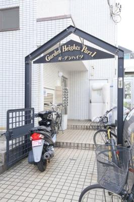 【エントランス】ガーデンハイツ一号館