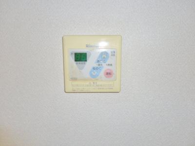 給湯器パネル (写真は反転イメージです)