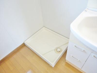 室内洗濯機置場 (写真は反転イメージです)