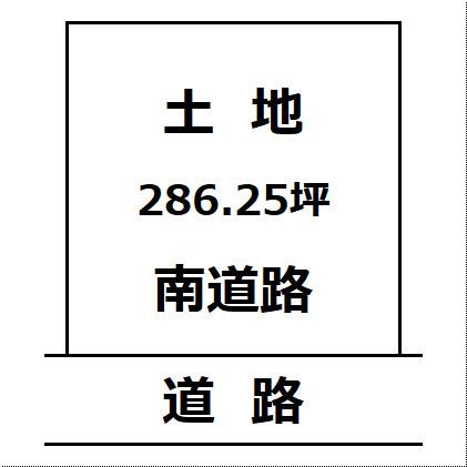 【土地図】仙北郡美郷町 土崎上野乙 住宅用地 千畑小学校まで400m 解体渡し物件