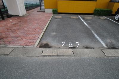 【駐車場】シャーメゾン輝