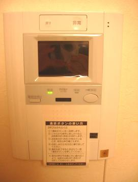 TVモニターホン☆