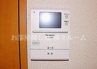 TVモニター付インターホン☆