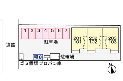 【区画図】ベルフィオーレ