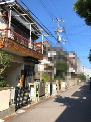 【前面道路含む現地写真】岸和田市松風町 戸建