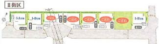 【区画図】国分寺市光町1丁目 全8棟 H号棟 仲介手数料無料