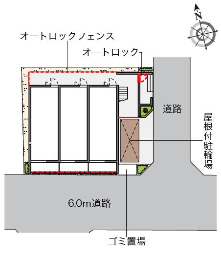 【区画図】ミランダKRONOS