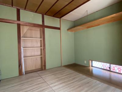 1階の6帖のお部屋です。
