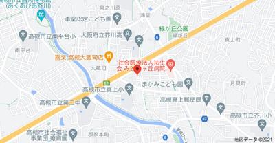 【地図】サンモリックA棟 (株)Roots