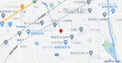 【地図】プラチナム登美の里 (株)Roots