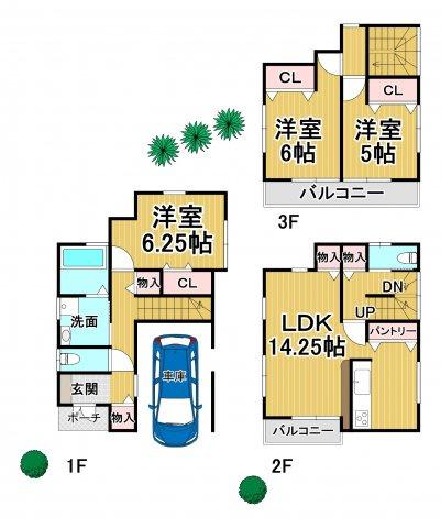 ファーストタウン 春日市須玖南5丁目 1号棟