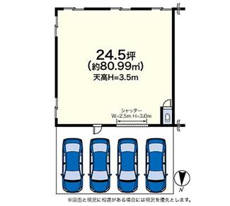 24.5坪(約80.99㎡)