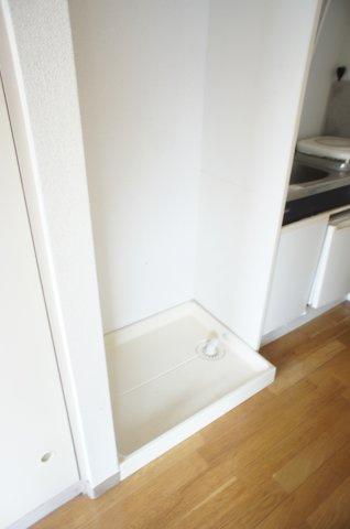 室内洗濯機置場もございます
