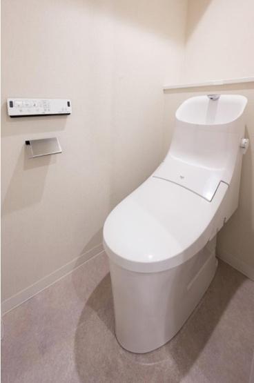 田端スカイハイツ:ウォシュレット機能付き節水型トイレです!