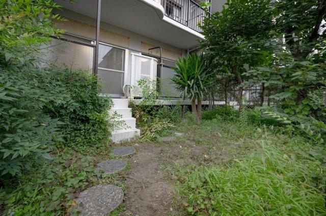 田端スカイハイツ:約25平米の専用庭画像です!