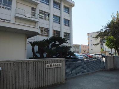 松山市立新玉小学校 55m