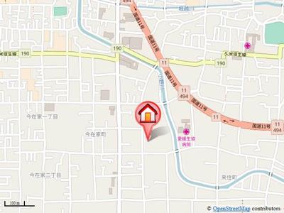 【地図】セジュールSKⅢ・