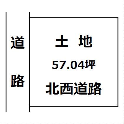 【土地図】大仙市大曲黒瀬町 土地物件