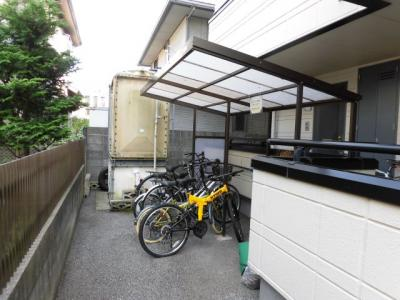 敷地内自転車置き場