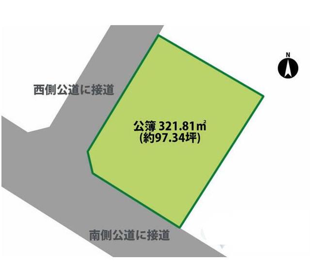 【土地図】若松町