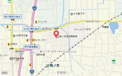 【地図】カルフール松本A