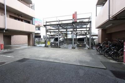 駐車場です:八潮新築ナビで検索♪