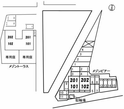 【区画図】メゾン ピアー