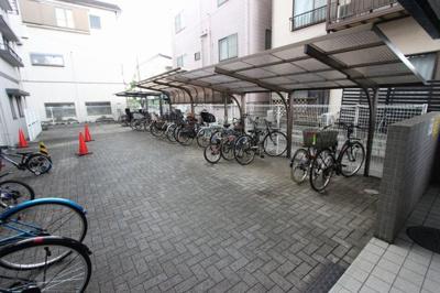 駐輪場です:八潮新築ナビで検索♪