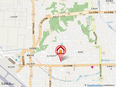 【地図】グレイス南吉田