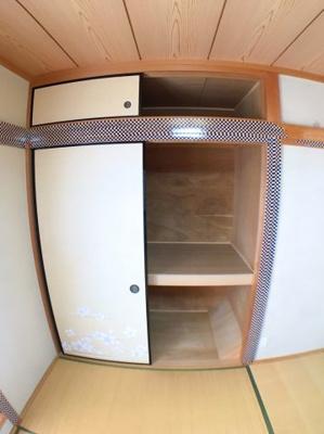 ●3階和室の収納です♪
