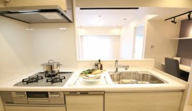 【キッチン】白鳥スカイマンション