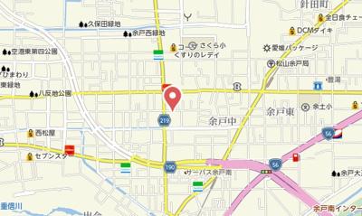 【地図】セジュールまこと