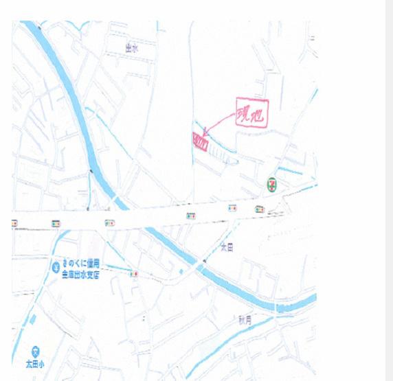 【地図】和歌山市出水