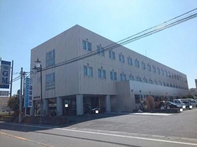 篠塚病院まで1100m
