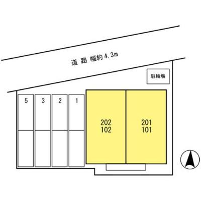 【区画図】ボヌールクレエ