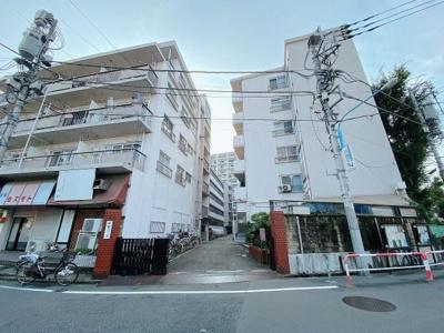 【外観】新宿コーポ2号館