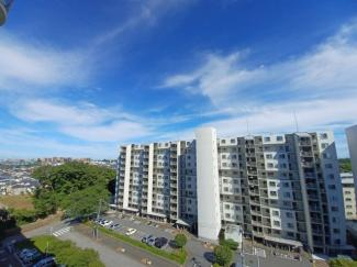 稲毛ファミールハイツ1号棟 高層階のため、風通し・眺望良好です!