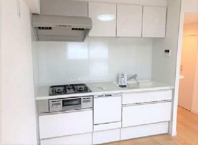 システムキッチン新規交換済。食器洗浄機付いてます。