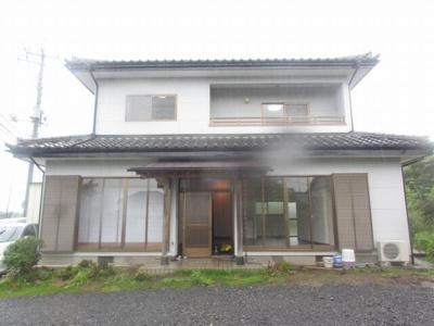 【外観】さくら市狹間田 5LDK 中古住宅