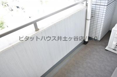 【バルコニー】プラージュベイ横濱関内