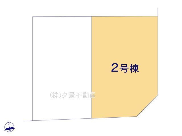 【区画図】川口市前川3丁目26-20(2号棟)新築一戸建てファーストタウン