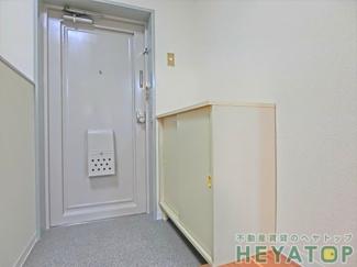 シューズボックス付き玄関(同仕様写真)