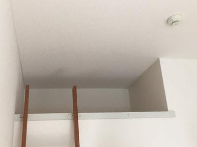 使用頻度の少ない荷物はロフトへ。お部屋を広く使えますよ。※別部屋参考写真