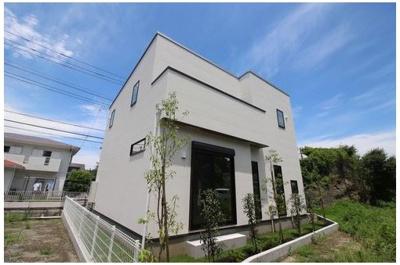 【外観】鎌倉市笛田3丁目 新築戸建