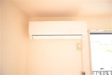 冷暖房完備してます