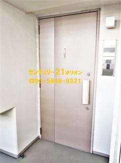 【玄関】エーデル練馬