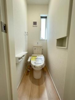 【トイレ】三島市幸原町第1 新築戸建 2号棟